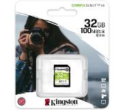 Kingston Canvas Plus SD 32GB geheugenkaart