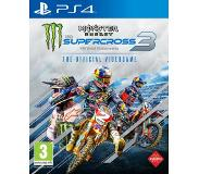 Namco Monster Energy Supercross: The Official Videogame 3 NL/FR PS4