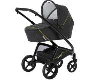 Knorr-Baby Combikinderwagen HEAD darkgrey-yellow