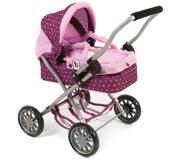 Bayer-Chic BAYER CHIC 2000 Mini Poppenwagen SMARTY Dots Blackberry