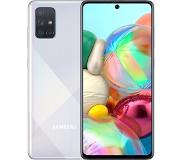 Samsung galaxy a71 prism crush silver 6+128gb