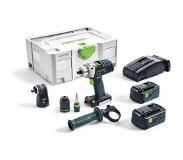 Festool PDC 18/4 Li 5.2 Set Accu Klopboormachine in Systainer 574703