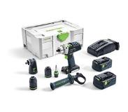 Festool PDC 18/4 Li 5.2 Set XL Accu Klopboormachine 18V 5.2Ah L-Ion in Systainer 574704