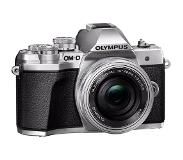 Olympus OM-D E-M10 Mark III Body Zilver + 14-42mm