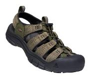 Keen Newport H2 Sandalen Heren, forest night/black 2020 US 9,5 | EU 42,5 Trekking & Wandelsandalen