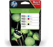 HP 953XL Combo Pack 4-Kleuren (3HZ52AE)