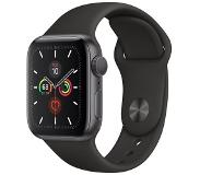 Apple Watch Series 5 GPS + Cell 40mm Alu Case Grey Black Band