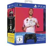 Sony DualShock 4 + EA Sports FIFA 20 Gamepad PlayStation 4 Analoog/digitaal Bluetooth/USB Zwart