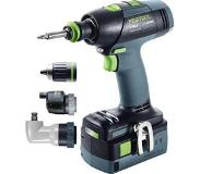 Festool 575693 T18+3 Li 5,2 Set accuboormachine + 5 jaar dealer garantie!