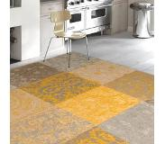 Louis De Poortere Patchwork vloerkleed - Kelim Yellow 8084 170x240cm