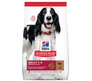 Hill's Pet Nutrition Adult Medium Lam & Rijst hondenvoer 2 x 2,5 kg