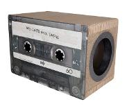 District 70 MIXTAPE Krabpaal - Zwart - L 51 x 31 x 35 cm