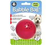 Pet Qwerks Dierengeluiden Babble Ball Rood-Geel Medium