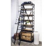 Giga Meubel Boekenkast Industrieel Ladder Small