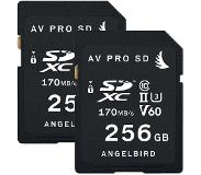 Angelbird Match Pack for Fujifilm X-T3 256GB 2-pack