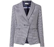 Gerry weber Double-breasted blazer met gingham dessin