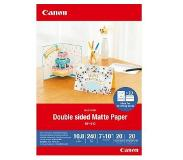 Canon mp-101 d 7x10 , 20 vel double sided mat paper, 240 g