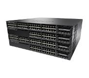 Cisco switch: Catalyst Catalyst 3650-24PD-S, Standalone, 1U, 24 x 10/100/1000 Ethernet PoE+, 2x10G Uplink ports, DRAM .....