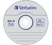 Verbatim 1x25 BD-R Blu-Ray 25GB 6x Speed Datalife No-ID Cakebox