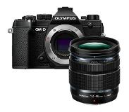 Olympus E-M5 Mark III zwart + 12-45mm F/4.0 Pro Kit