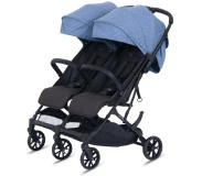 Knorr-Baby Zusterauto Twin - Easy Fold Blue
