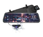 AZDome PG02 2CH Full Mirror Touch dashcam