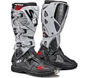 Sidi Crossfire 3 Black Ash Motorcycle Boots 47