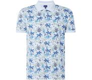 Gant D1 Palm Haze regular fit polo met tropische print