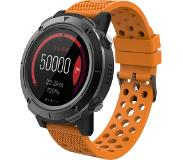 Denver SW-510 - Bluetooth smartwatch met GPS functie - activity tracker - hartslagmeter - Fitbit - Oranje