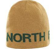 The North Face Reversible TNF Banner Beanie Unisex Muts - British Khaki/Night Green - One Size