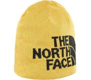 The North Face Highline Beanie Unisex Muts - Golden Spice/Tnf Black - One Size