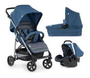 Hauck Rapid 4 Plus Trioset Kinderwagen - Denim/grey