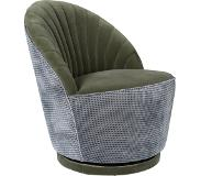 Dutchbone Fauteuil Madison Olive Velvet 78 x 67 x 76