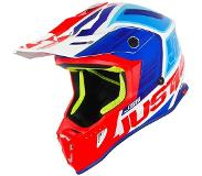 JUST1 Helmet J38 Blade Blue-Red-White Helmet 62-XL