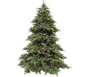 Triumph tree kunstkerstboom led deluxe abies nordmann maat in cm: 215 x 155 groen 400 lampjes met warmwit led