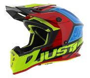 JUST1 Helmet J38 Blade Black-Yellow-Red-Blue Helmet 62-XL