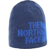 The North Face Highline Beanie Unisex Muts - Flag Blue/Tnf Blue - One Size