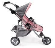 Bayer-Chic BAYER CHIC 2000 Jogging Buggy LOLA Melange grijs roze