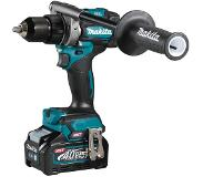 Makita DF001GM201 40V Li-Ion accu schroef-/boormachine set (2x 4,0Ah) in Mbox - 115Nm - koolborstelloos