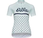 Odlo T-Shirt Stand-Up Collar Zip Element - Blauw/ Gemengd - Maat: L