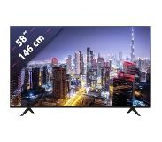 Hisense A7100F 58A7100F tv 146,1 cm (57.5'') 4K Ultra HD Smart TV Wi-Fi Zwart