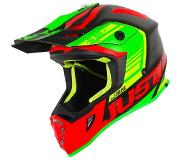 JUST1 Helmet J38 Blade Red-Lime-Black 58-M