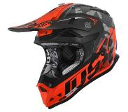 JUST1 J32 Pro Crosshelm Camo Orange Fluo-XS