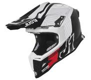 JUST1 J12 Crosshelm Syncro Carbon/Matt White-XS