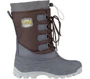 Winter-Grip Snowboot Winter-Grip Men Northern Tracker Bruin Antraciet Okergeel