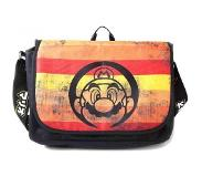 Numskull Nintendo - Super Mario Retro Striped Messenger Bag