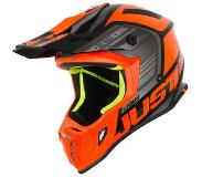 JUST1 J38 Crosshelm Blade Orange/Black-L