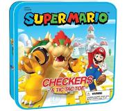 USAopoly Super Mario - Checkers/Tic-Tac-Toe