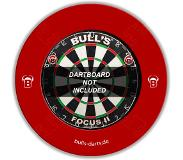 "Bulls dartbordring Quarterback Surround rood 18""/13 cm"