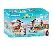 Playmobil 70395 Dreamworks Spirit Kerstmis in Miradero